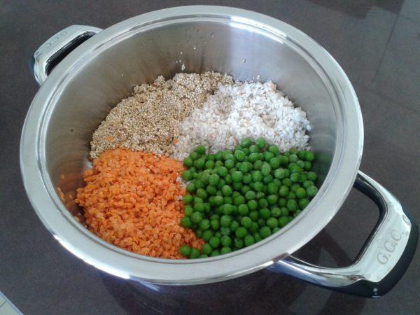 ירקות קטניות ודגנים